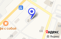 Схема проезда до компании ТРИКОТАЖНАЯ ФАБРИКА ТРИКОТАЖНИЦА в Кировске
