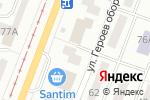 Схема проезда до компании Экот в Одессе