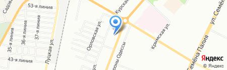 Мастерская по ремонту часов на карте Одессы