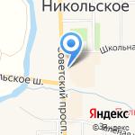 Семёрочка на карте Санкт-Петербурга