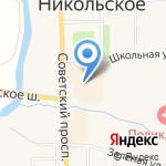 Магазин мужской одежды на карте Санкт-Петербурга