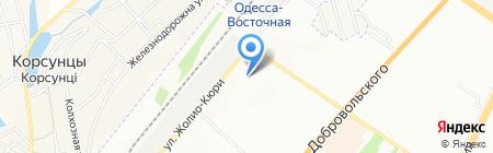 Надежда людям на карте Одессы