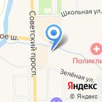 Автомойка самообслуживания на карте Санкт-Петербурга