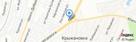 Троя на карте Одессы