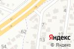 Схема проезда до компании Оберіг в Крыжановке