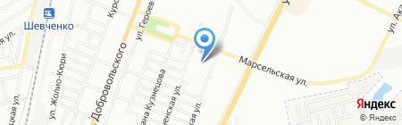 Детский сад-ясли №73 Сказка на карте Одессы