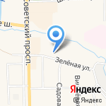 Мила на карте Санкт-Петербурга