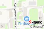Схема проезда до компании Киоск по продаже печатной продукции в Никольском