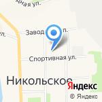 Нива Райпо на карте Санкт-Петербурга