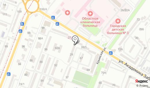 Авалон. Схема проезда в Одессе