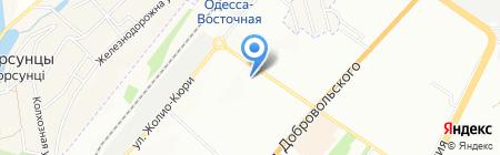 Сільпо на карте Одессы