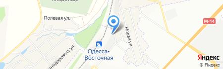 Артферрум на карте Ильичёвки