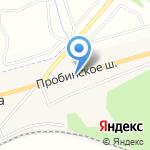 Магазин кормов для животных на карте Санкт-Петербурга