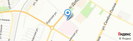 Медсервис на карте Одессы