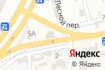 Схема проезда до компании Автобум в Крыжановке