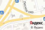 Схема проезда до компании АвтоЭнтерпрайз в Крыжановке