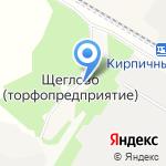 Щегловка на карте Санкт-Петербурга