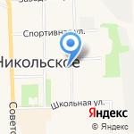 Карина на карте Санкт-Петербурга