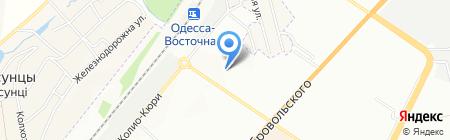 Участковый пункт милиции на карте Одессы
