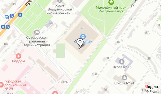 Сити Case. Схема проезда в Одессе