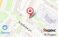 Схема проезда до компании Русский Фонд Недвижимости СПб в Отрадном