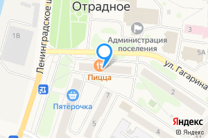 Двухкомнатная квартира в Отрадном Кировский р-н, Отрадненское городское поселение, Невская ул., 9