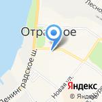Орион на карте Санкт-Петербурга