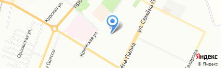 Детский сад-ясли №287 на карте Одессы