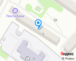 Схема местоположения почтового отделения 187330