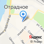 Почтовое отделение №330 на карте Санкт-Петербурга