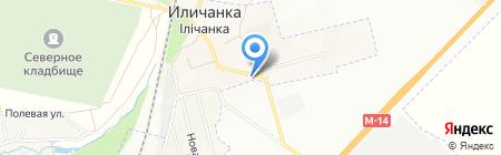 СТО на Школьной на карте Ильичёвки