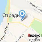 Отрада-тур на карте Санкт-Петербурга