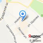 Чайная радуга на карте Санкт-Петербурга