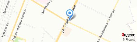 Капитал ПО на карте Одессы