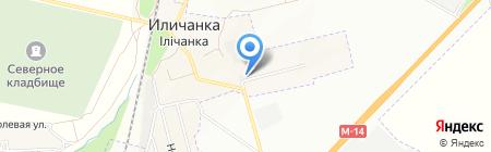 Торгово-производственная фирма на карте Ильичёвки