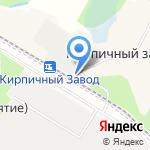 Кирпичный завод на карте Санкт-Петербурга