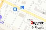 Схема проезда до компании Сканди в Одессе