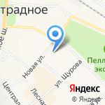 Отрадненская городская больница на карте Санкт-Петербурга
