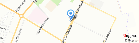 Гоштур на карте Одессы
