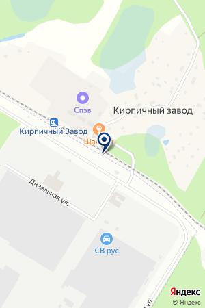 ОПТОВО-ТОРГОВАЯ ФИРМА НОКИАН ШИНА на карте Всеволожска