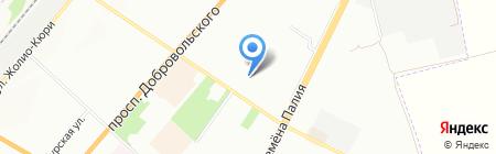 Детский сад-ясли №307 на карте Одессы