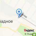 Лучик на карте Санкт-Петербурга