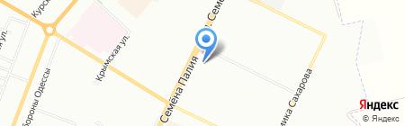 МКТ на карте Одессы