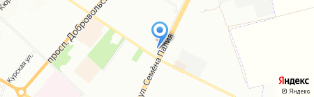Надежда на карте Одессы