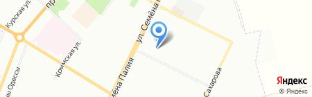 Стриж на карте Одессы