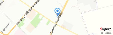 Стелла на карте Одессы