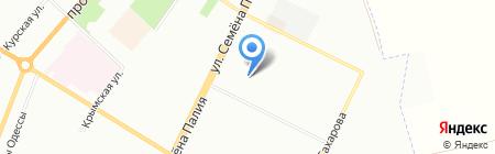 Нимфа на карте Одессы