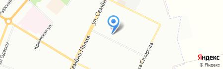 Часики на карте Одессы