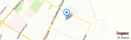 Браво на карте Одессы