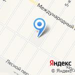 Тентал на карте Санкт-Петербурга